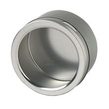4 Inch Round Magnetic Tin