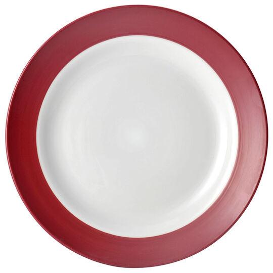 Red Round Platter