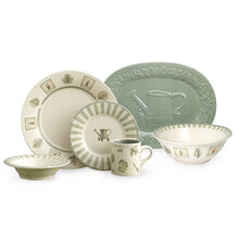 32 Piece Dinnerware Set With Serveware