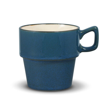 Blue Stackable Mug