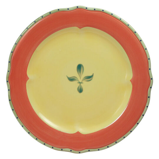 Dinner Plate with Red Band