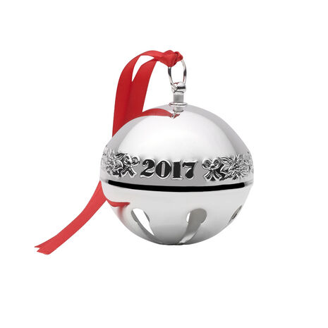 2017 Sterling Sleigh Bell Ornament, 23rd Edition