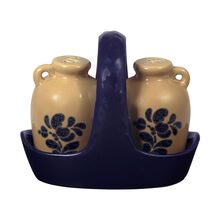 Salt and Pepper Set with Caddy