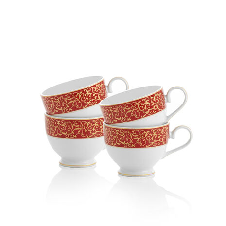 Set of 4 Tea Cups