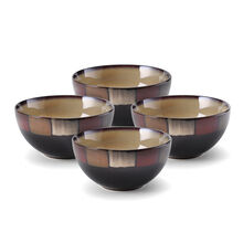 Set of 4 Individual Round Bowls