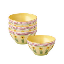 Set of 4 Deep Soup Cereal Bowls