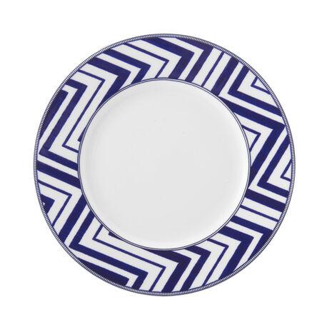 Zig Zag Salad Plate