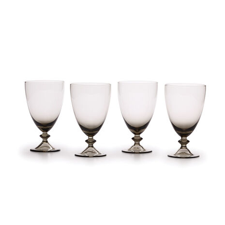Smoke Set of 4 All Purpose Glasses