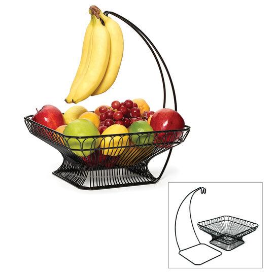 Fruit Basket with Banana Hook