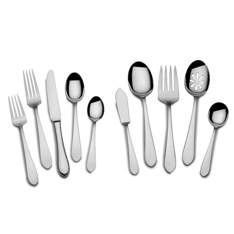 Boston Antique 45 Piece Flatware Set