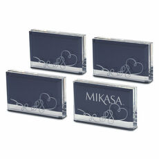 4 Piece Placecard Holder Photo Frame Set