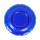 Cobalt Glass Salad Plate