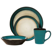 Teal Dinnerware Set