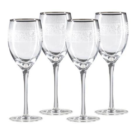 Platinum Goblets, Set of 4