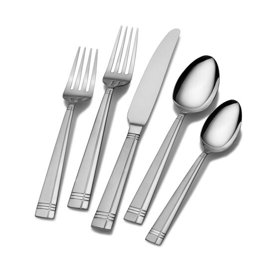 Dawson Frost 40 Piece Flatware Set