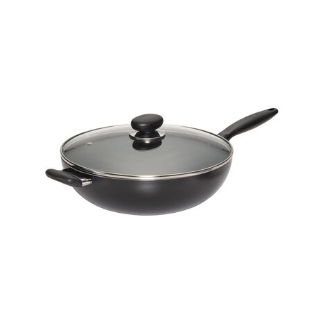 12 Inch Nonstick Aluminum Chef Pan with Lid