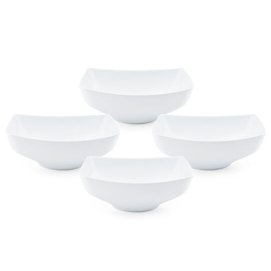 Set of 4 Rectangular Side Serving Bowls