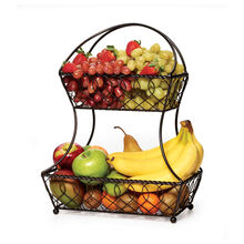 Lattice 2 Tier Fruit Basket