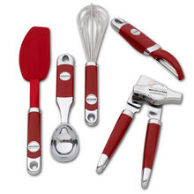 5 Piece Red Gadget Set