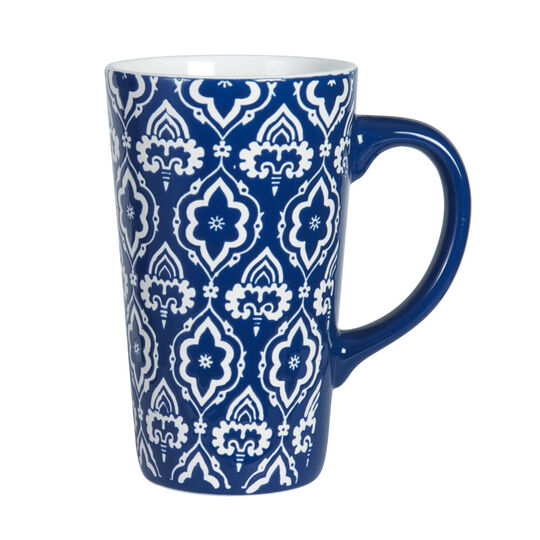 Tall Blue Mug