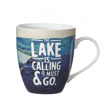 The Lake is Calling Mug