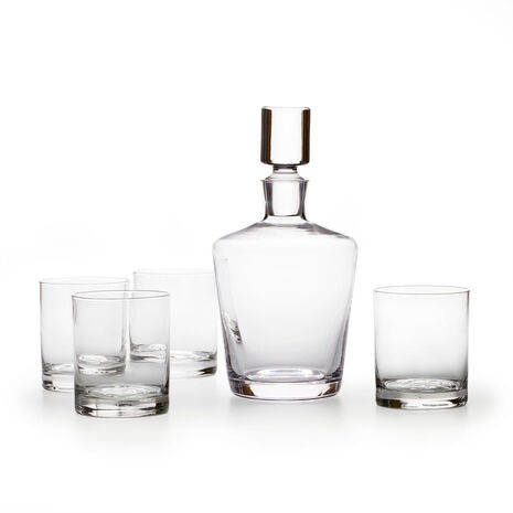 Donovan 5 Piece Decanter Set