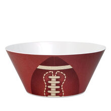 Melamine Football Serving Bowl