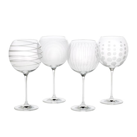 Set of 4 Balloon Glasses