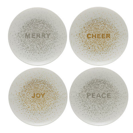 Confetti Set of 4 Salad Plates