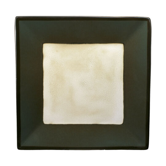 Green Square Dinner Plate