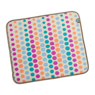 Candy Dot 16 x 18 Inch Reversible Dish Drying Mat