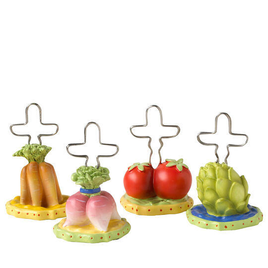 Set of 4 Assorted Place Card Holders