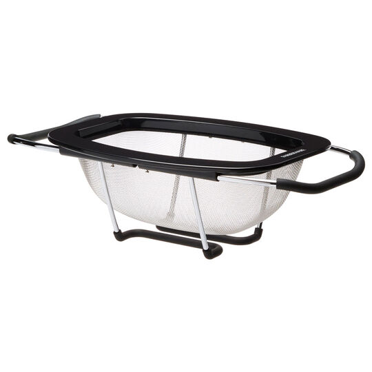 Black Expandable Colander