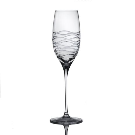Crystal Champagne Flute Glass
