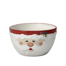 Jolly Santa Sculpted Bowl
