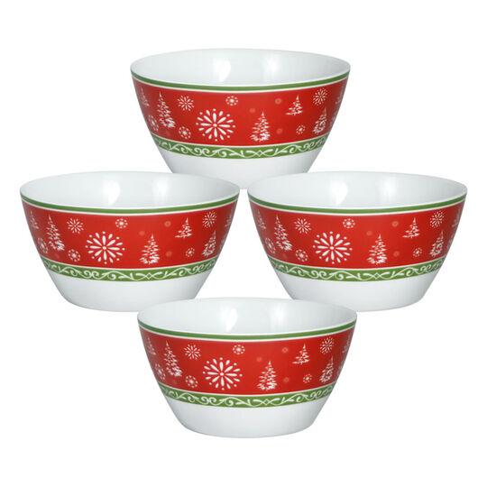 Set of 4 Soup Cereal Bowls