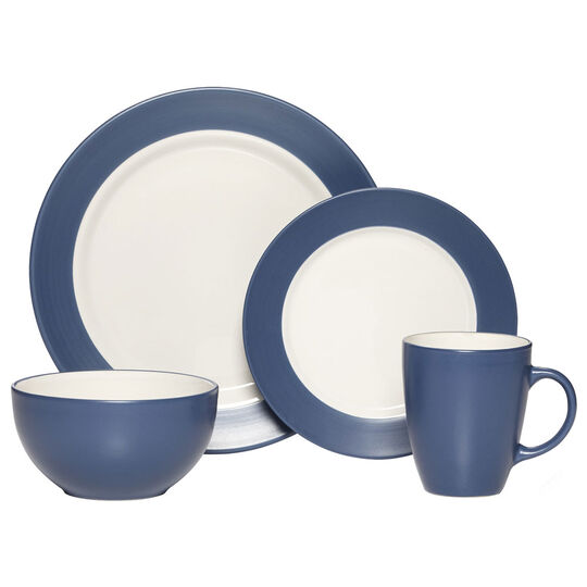 Cobalt 48 Piece Dinnerware Set