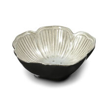 White Floral Fruit Bowl