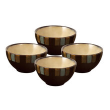 Set of 4 Round Fruit Bowls