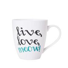 Live Love Meow Mug