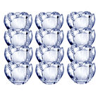 Set of 12 Glass Votives