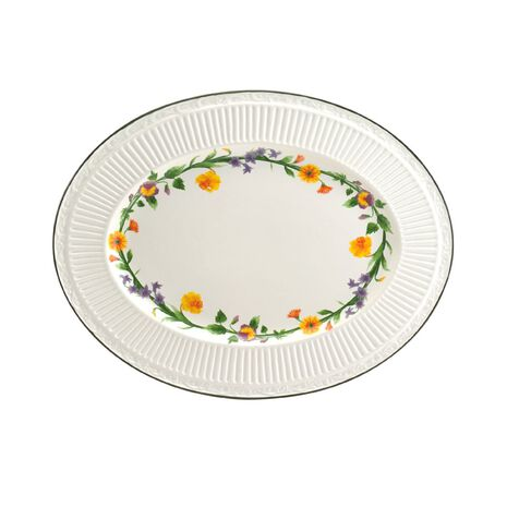 Meadow Oval Platter