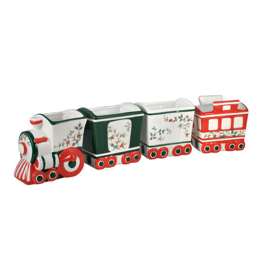 Holiday Train Serving Bowls