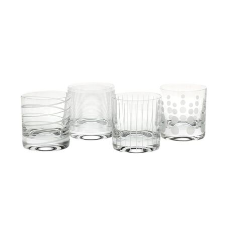 Double Old Fashioned, Set of 4