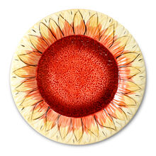 Large Sunflower Platter