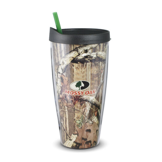 Double Walled Tumbler With Snap On Lid