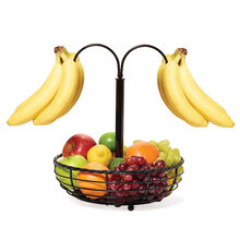 Rope Basket with Double Banana Hook
