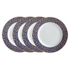 Set of 4 Round Salad Plates