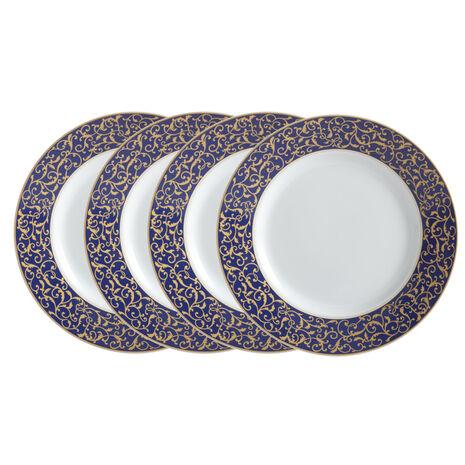 Set of 4 Round Salad Plates