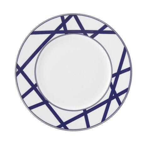 Crisscross Salad Plate
